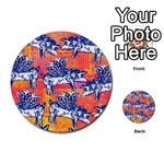 Little Flying Pigs Multi-purpose Cards (Round)  Back 48