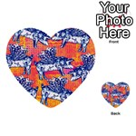 Little Flying Pigs Multi-purpose Cards (Heart)  Front 45