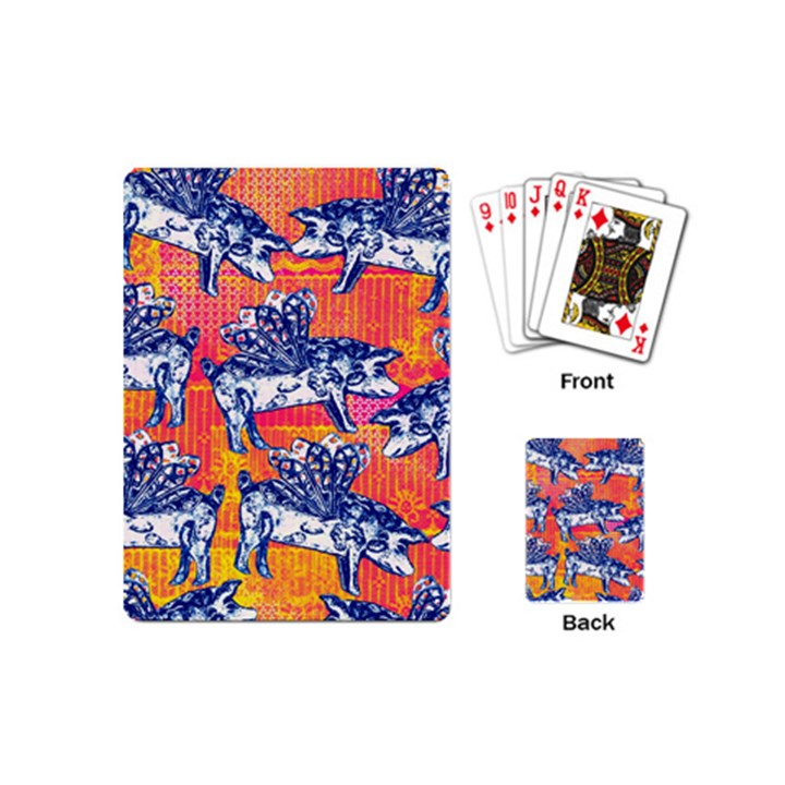 Little Flying Pigs Playing Cards (Mini)