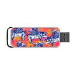 Little Flying Pigs Portable USB Flash (Two Sides) Back
