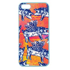 Little Flying Pigs Apple Seamless Iphone 5 Case (color) by DanaeStudio