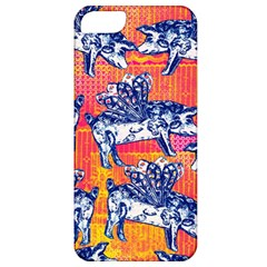 Little Flying Pigs Apple Iphone 5 Classic Hardshell Case by DanaeStudio