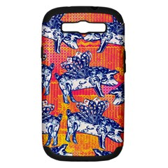 Little Flying Pigs Samsung Galaxy S Iii Hardshell Case (pc+silicone) by DanaeStudio