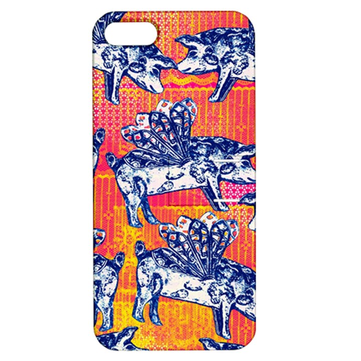 Little Flying Pigs Apple iPhone 5 Hardshell Case with Stand