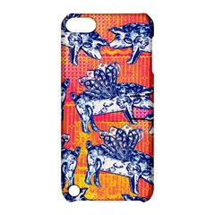 Little Flying Pigs Apple Ipod Touch 5 Hardshell Case With Stand by DanaeStudio
