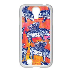 Little Flying Pigs Samsung Galaxy S4 I9500/ I9505 Case (white) by DanaeStudio