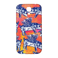 Little Flying Pigs Samsung Galaxy S4 I9500/i9505  Hardshell Back Case by DanaeStudio