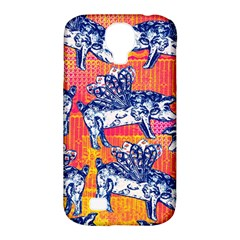 Little Flying Pigs Samsung Galaxy S4 Classic Hardshell Case (pc+silicone) by DanaeStudio