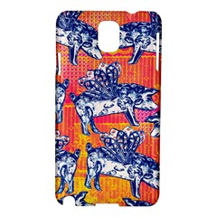 Little Flying Pigs Samsung Galaxy Note 3 N9005 Hardshell Case by DanaeStudio