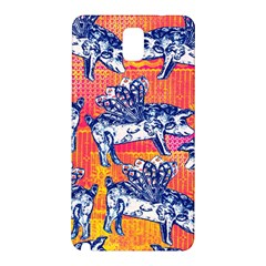 Little Flying Pigs Samsung Galaxy Note 3 N9005 Hardshell Back Case by DanaeStudio