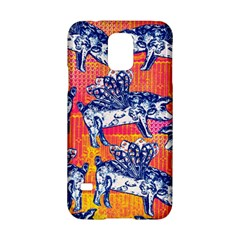 Little Flying Pigs Samsung Galaxy S5 Hardshell Case  by DanaeStudio