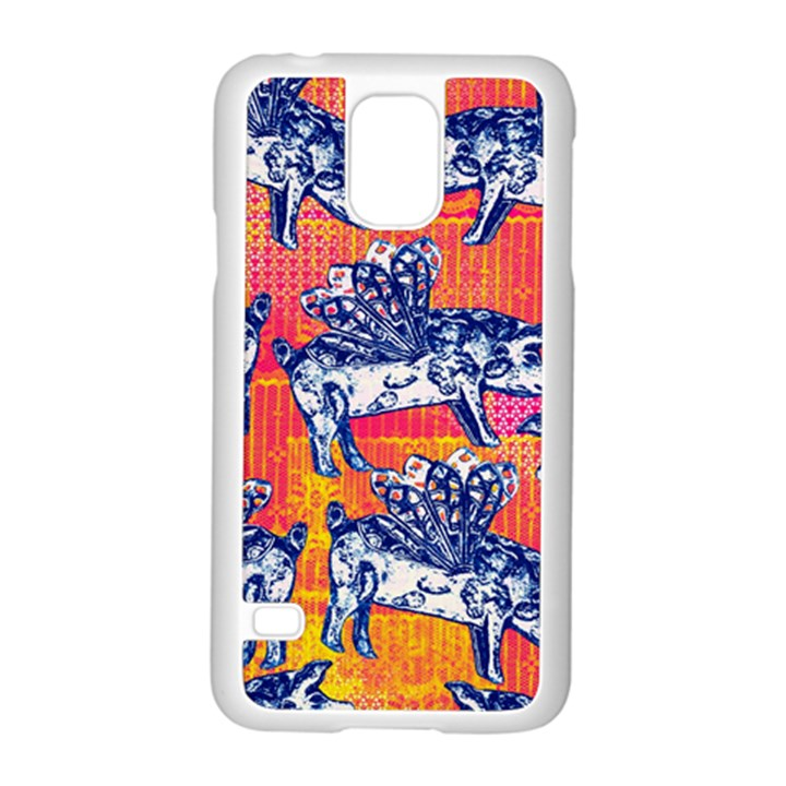 Little Flying Pigs Samsung Galaxy S5 Case (White)