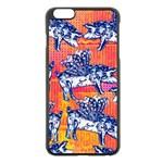 Little Flying Pigs Apple iPhone 6 Plus/6S Plus Black Enamel Case Front