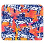 Little Flying Pigs Double Sided Flano Blanket (Small)  50 x40 Blanket Front