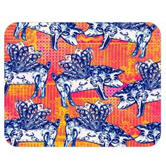 Little Flying Pigs Double Sided Flano Blanket (medium)  by DanaeStudio