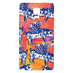 Little Flying Pigs Galaxy Note 4 Back Case by DanaeStudio
