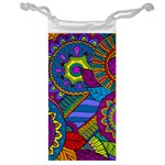 Pop Art Paisley Flowers Ornaments Multicolored Jewelry Bags