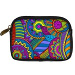 Pop Art Paisley Flowers Ornaments Multicolored Digital Camera Cases