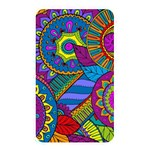 Pop Art Paisley Flowers Ornaments Multicolored Memory Card Reader