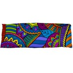 Pop Art Paisley Flowers Ornaments Multicolored Body Pillow Case (Dakimakura)
