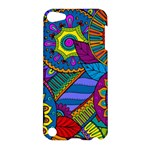 Pop Art Paisley Flowers Ornaments Multicolored Apple iPod Touch 5 Hardshell Case