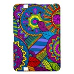 Pop Art Paisley Flowers Ornaments Multicolored Kindle Fire HD 8.9