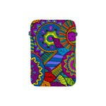 Pop Art Paisley Flowers Ornaments Multicolored Apple iPad Mini Protective Soft Cases Front