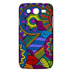 Pop Art Paisley Flowers Ornaments Multicolored Samsung Galaxy Mega 5 8 I9152 Hardshell Case
