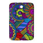 Pop Art Paisley Flowers Ornaments Multicolored Samsung Galaxy Note 8.0 N5100 Hardshell Case