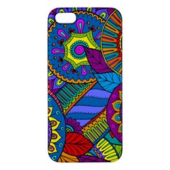 Pop Art Paisley Flowers Ornaments Multicolored Iphone 5s/ Se Premium Hardshell Case by EDDArt
