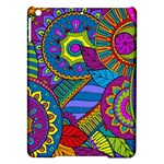 Pop Art Paisley Flowers Ornaments Multicolored iPad Air Hardshell Cases