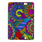 Pop Art Paisley Flowers Ornaments Multicolored Kindle Fire HDX 8.9  Hardshell Case