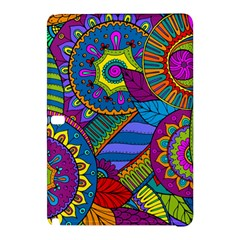 Pop Art Paisley Flowers Ornaments Multicolored Samsung Galaxy Tab Pro 10 1 Hardshell Case