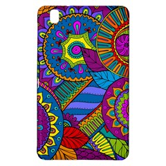 Pop Art Paisley Flowers Ornaments Multicolored Samsung Galaxy Tab Pro 8 4 Hardshell Case