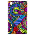 Pop Art Paisley Flowers Ornaments Multicolored Samsung Galaxy Tab Pro 8.4 Hardshell Case
