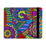 Pop Art Paisley Flowers Ornaments Multicolored Samsung Galaxy Tab Pro 8.4  Flip Case Front
