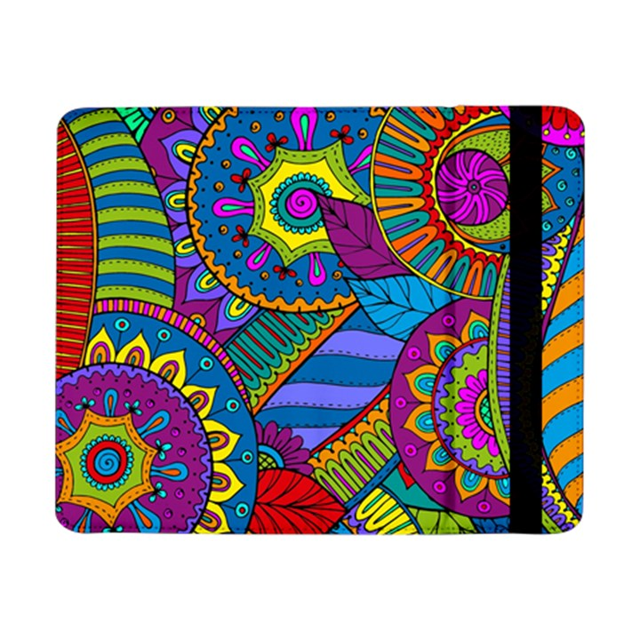 Pop Art Paisley Flowers Ornaments Multicolored Samsung Galaxy Tab Pro 8.4  Flip Case