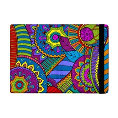Pop Art Paisley Flowers Ornaments Multicolored Ipad Mini 2 Flip Cases by EDDArt