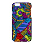 Pop Art Paisley Flowers Ornaments Multicolored Apple iPhone 6 Plus/6S Plus Hardshell Case