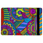 Pop Art Paisley Flowers Ornaments Multicolored iPad Air 2 Flip