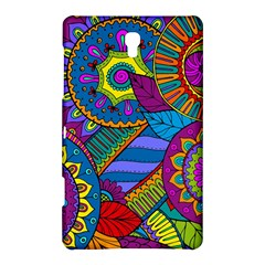 Pop Art Paisley Flowers Ornaments Multicolored Samsung Galaxy Tab S (8 4 ) Hardshell Case