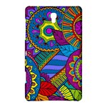 Pop Art Paisley Flowers Ornaments Multicolored Samsung Galaxy Tab S (8.4 ) Hardshell Case