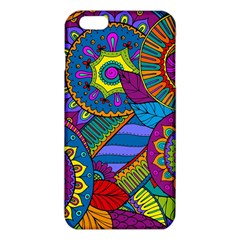 Pop Art Paisley Flowers Ornaments Multicolored Iphone 6 Plus/6s Plus Tpu Case by EDDArt