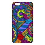 Pop Art Paisley Flowers Ornaments Multicolored iPhone 6 Plus/6S Plus TPU Case