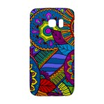 Pop Art Paisley Flowers Ornaments Multicolored Galaxy S6 Edge