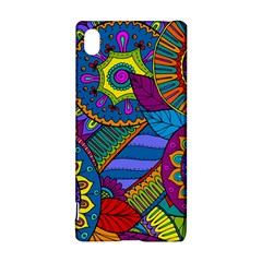 Pop Art Paisley Flowers Ornaments Multicolored Sony Xperia Z3+ by EDDArt