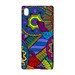 Pop Art Paisley Flowers Ornaments Multicolored Sony Xperia Z3+