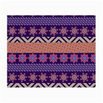 Colorful Winter Pattern Small Glasses Cloth Front