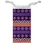 Colorful Winter Pattern Jewelry Bags Front