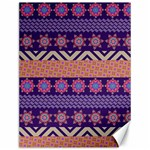 Colorful Winter Pattern Canvas 12  x 16   16 x12 Canvas - 1